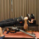 柔軟性を高めながら筋力アップができるストレッチ種目のトレーニング